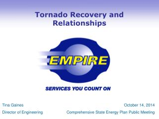 Tornado Recovery and Relationships