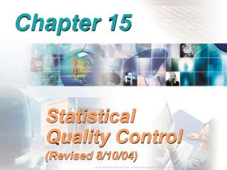 Statistical Quality Control Revised 8