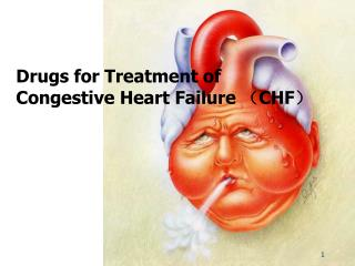 Drugs for Treatment of Congestive Heart Failure  ? CHF ?