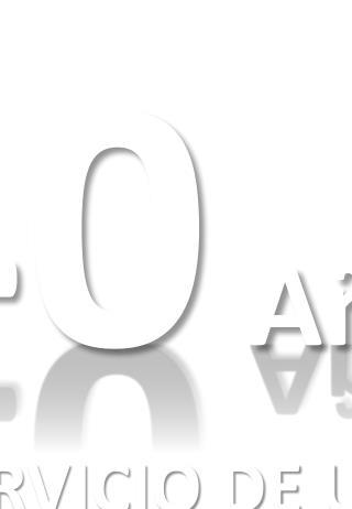 40 A�os �AL SERVICIO DE USTED! 1973-2013