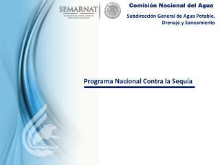 Subdirecci�n General de Agua Potable, Drenaje y Saneamiento