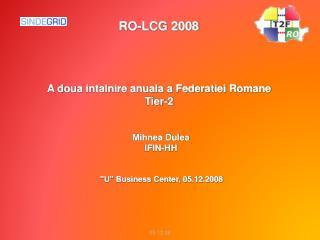 A doua intalnire anuala a Federatiei Romane Tier-2