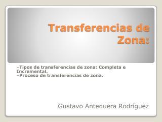 Transferencias de Zona: