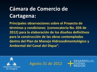 Cámara de Comercio de Cartagena :