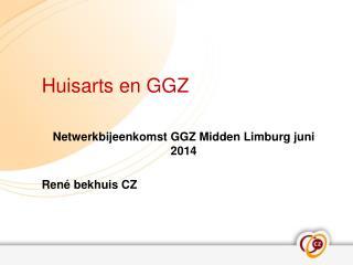 Huisarts en GGZ