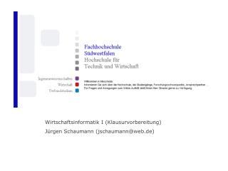 Durchgeführt von Jürgen Schaumann  am 23. und 24. November 2007