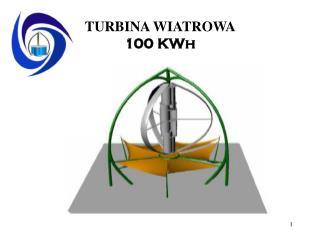 TURBINA WIATROWA  100 KWh