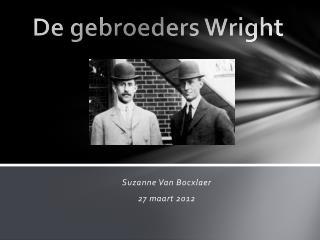 De gebroeders Wright