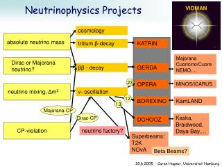 Neutrinophysics Projects