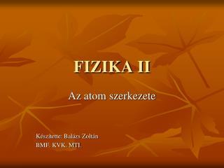 FIZIKA II