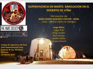 SUPERVIVENCIA EN MARTE: SIMULACION EN EL DESIERTO DE UTAH TRIPULACION 140