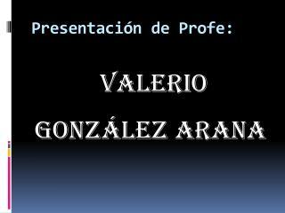 Presentación de Profe: