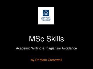 MSc Skills