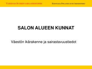 SALON ALUEEN KUNNAT
