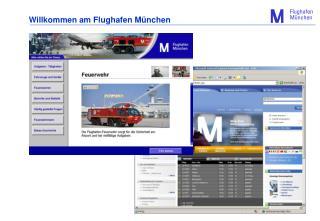 Willkommen am Flughafen München