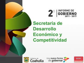 Secretaría de Desarrollo Económico y Competitividad