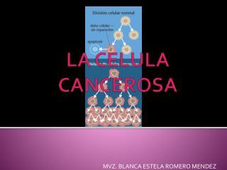 LA CELULA CANCEROSA