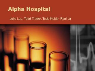 Alpha Hospital