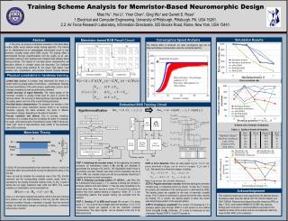 Training Scheme Analysis for Memristor-Based Neuromorphic Design