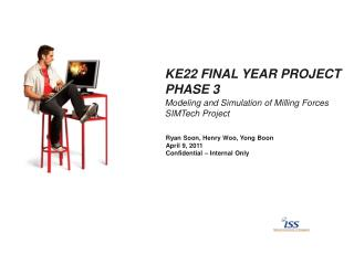 KE22 Final Year  Project Phase 3