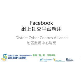 Facebook 網上社交平台應用