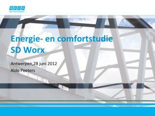 Energie - en  comfortstudie SD  Worx