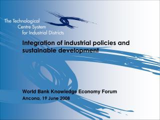 A model of industrial development