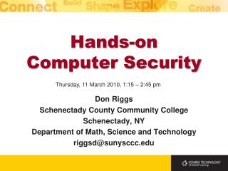 Hands-on  Computer Security