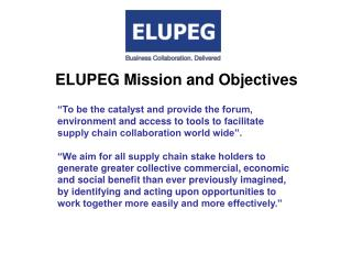 ELUPEG Mission and Objectives