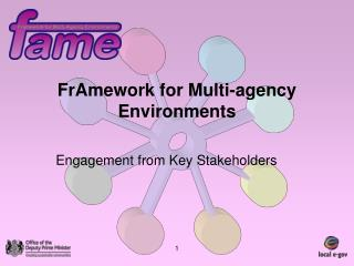 FrAmework for Multi-agency Environments