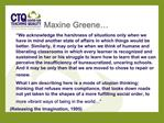 Maxine Greene