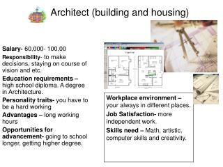 Architect (building and housing)