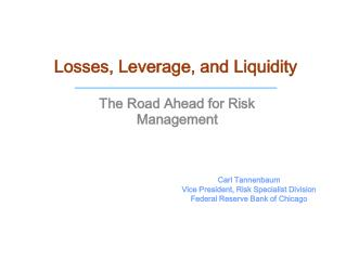 Losses, Leverage, and Liquidity