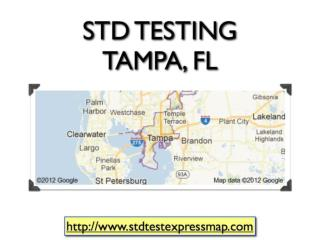 STD Testing Tampa