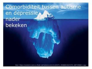 Comorbiditeit tussen autisme en depressie   nader  bekeken