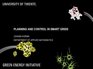 Planning and Control in Smart Grids