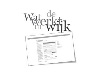 Waarom Wat Werkt in de Wijk?