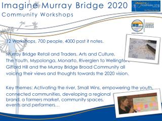 Imagine Murray Bridge 2020