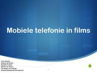 Mobiele telefonie in films