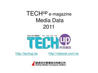 TECH up  e-magazine   Media Data 2011