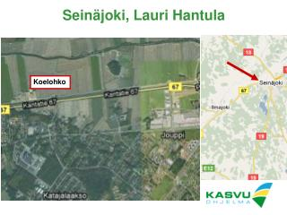 Seinäjoki, Lauri Hantula