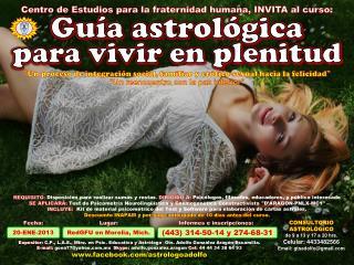 Gu�a astrol�gica  para vivir en plenitud