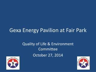 Gexa Energy Pavilion at Fair Park