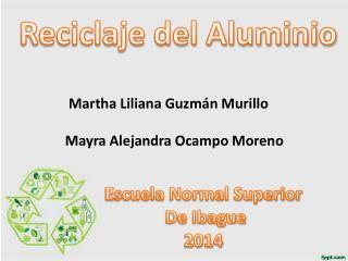Martha Liliana Guzmán  Murillo Mayra Alejandra Ocampo Moreno