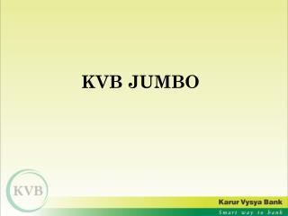 KVB JUMBO