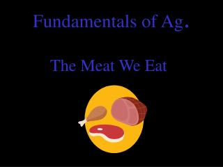 Fundamentals of Ag .