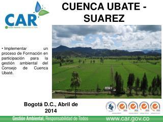 Bogot� D.C., Abril de 2014