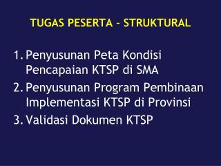 TUGAS PESERTA - STRUKTURAL