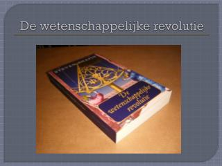 De wetenschappelijke revolutie