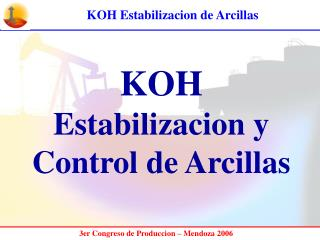 KOH Estabilizacion y Control de Arcillas